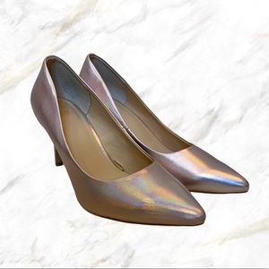 H&M | Holographic Pink Heels